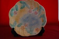 Hand Painted AVON WARE Plate featuring a spiders web