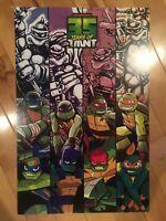 SDCC 2019 Exclusive 35 Years Anniversary Teenage Mutant Ninja Turtles Poster