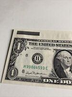 Error 1981 $1 Louis  UNCUT SHEET UNC SUPER RARE!