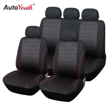 Soccer Ball Style Full Set Car Seat Covers Universal Interior Accessories