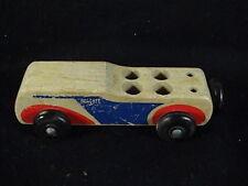 Vintage Holgate Toy Company U.S.A. Wooden Car