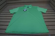 New Page & Tuttle Golf Solid Polo Mens Size Large Green 101A  Shirt Clothing
