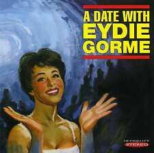 EYDIE GORME - A DATE WITH EYDIE GORME - NEW CD!!