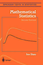 NEW Mathematical Statistics (Springer Texts in Statistics) by Jun Shao