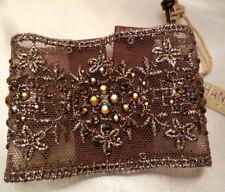 Chan Luu Jewelry Bronze Lace Crystal Cuff Bracelet #BS-3766