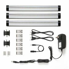 LE LED Under Cabinet Lighting 3 Panel Kit 12V Home Kichen Under Counter Lights