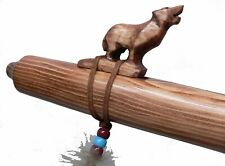 Authentic Native American WOLF Flute hand made by Jonah Thompson in key HIGH D