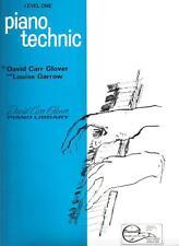 New Piano Technic Level One David Carr Glover