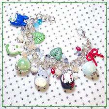 Braccialetto Bracciale Totoro & NoFace ~Cute Miyazaki Ghibli Bijoux Fimo Clay