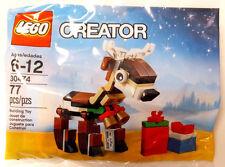 LEGO 30474 Creator CHRISTMAS REINDEER POLY BAG