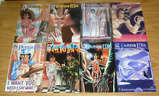 Donna Mia #0 & 1-3 VF/NM complete series + giant-size 1-2 + infinity + pinup