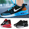 Mens Flyknit Air Cushion Jogging Outdoors Running Sports Athletic Sneakers Shoes