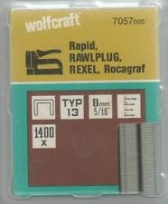 Wolfcraft Clip Type 013, 8 mm, Pack 1400 Piece