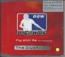 DJS@WORK - Fly with me (To the stars) CLUB MIXES CDM 3TR Trance 2002