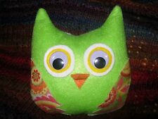 SALE. Handmade One of a Kind Cheerful Owl Plush Toy