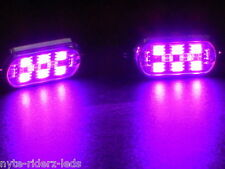 ACURA PINK 5050 SMD LED PODS ONE PAIR 6 LEDS ON EACH POD FITS CARS TRUCKS SUVS