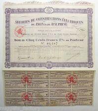 Bon : Ateliers de Constructions Electriques de Lyon et Dauphiné ( 283 )