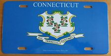 Connecticut 1990's COAT OF ARMS BOOSTER License Plate