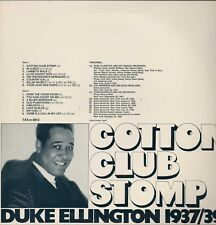 Cotton Club Stomp 1937-1939 Duke Ellington TAX  Vinyl LP HL6.300
