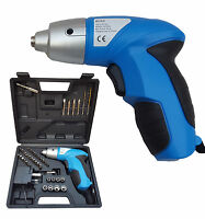 PRO 44PC 4.8V ELECTRIC RECHARGEABLE BATTERY CORDLESS SCREWDRIVER DRILL SET BITS