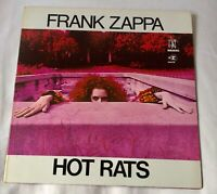 Frank Zappa HOT RATS Reprise Mastered by Capitol RS 6356 Vinyl LP 1977 Excellent