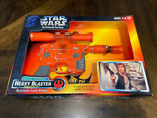 1996 KENNER Star Wars Power of the Force POTF electronic HEAVY BLASTER