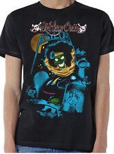 Motley Crue-Feelgood Graveyard Vintage-X-Large Black T-shirt