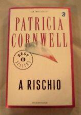 """DALLA MIA COLLEZIONE PATRICIA CORNWELL  : """" A RISCHIO""""  2009"""
