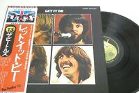 BEATLES LET IT BE OBI Vinyl JAPAN APPLE TOSHIBA-EMI EAS-80561  LP 2288