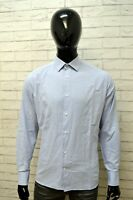 Camicia Uomo PIERRE CARDIN Taglia 42 Collo 16,5 Maglia Shirt Man Manica Lunga