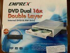 New in Box Emprex DVDRW 1016IM 16X IDE DVD±RW Dual Layer Internal Drive