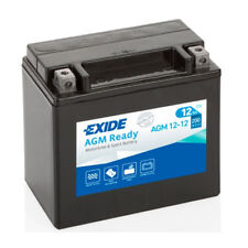 EXIDE AGM 12-12 YTX14-BS High Cranking Power Motorcycle Bike Battery - 12V 12AH