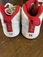 RARE 2017 Air Jordan 12 Retro Chinese New Year Toddler Shoes Size 7C EUC