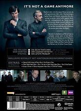 BENEDICT/FREEMAN,MARTIN CUMBERBATCH - SHERLOCK-STAFFEL 4  2 DVD NEU
