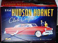 Moebius 1213 1954 Hudson Hornet Club Coupe model kit 1/25