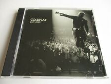 COLDPLAY Live 2003 CD Sampler Promo Only 12 TRACKS DPRO-708761821727 NEW