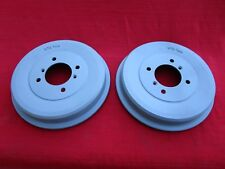 Pair of Reconditioned OEM Salisbury Rear Axle Brake Drums BTB 706 for MGB