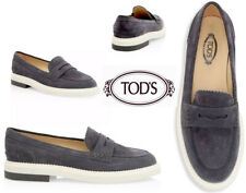 Tod's Suede Penny Loafers Sz EU39/US9
