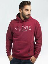 Globe Mens Mod Hoodie II Sweatshirt Cardinal Red L New