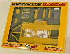 GMP 1:18 Corvette Racing Tool & Car Trailer Set Diecast Limited Edition #2605-2