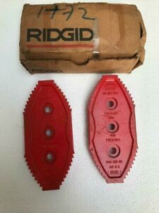 RIDGID 93060 SET OF JAWS FOR 3233 CHAIN TONG
