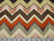 Swavelle Millcreek Clement-Sussex Flint Modern  Yet Retro Cotton Chevron Print