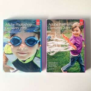 ✅ Adobe Photoshop & Premiere Elements 2019 *Sealed with serial and activation* ✅