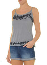 Dorothy Perkins blue chambray cornelli spring summer cami-->Size 10UK or S-M