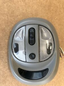 2003 2004 2005 CHRYSLER PT CRUISER OVERHEAD DOME MAP LAMP SUNROOF SWITCH GRAY