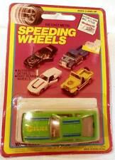 Vintage Speeding Wheels 1980s Toyota Super Celica Supra Green MOC 1/64 Scale