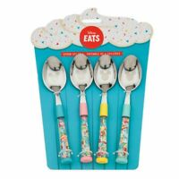 Disney Store Mickey Mouse Disney Eats Spoon set of 4 NEW