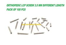 Orthopedic 35mm Lcp Locking Screws Self Tapping Different Lengths 100 Pcs