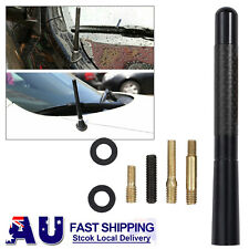 "12cm 4.7"" Aerial Car Roof AM/FM Radio Signal Antenna Booster Mast Stubby Black"