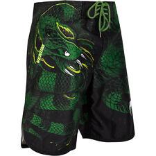 Venum Green Viper Lightweight Drawstring Closure Mma Boardshorts - Black/Green